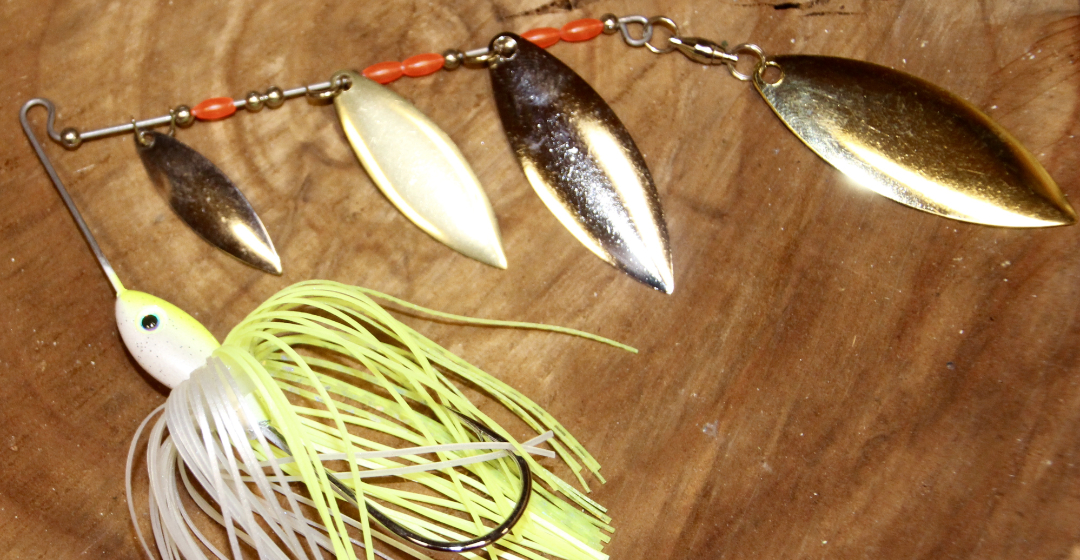 Red Dirt Baby Quad Spinner Baits